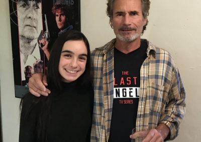 Ellie with David